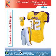 Pro-cut American football uniforms