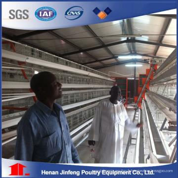 Cage de poulet en acier en forme de U de ventes élevées pour des couches / griller / poulette
