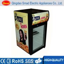Refrigerador de la bebida de la energía Refrigerador Tapa del contador / tapa de tabla Mini refrigerador portable