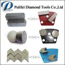 Segment de meulage de béton et de plancher utilisé dans le marché de l'Inde
