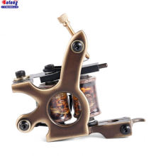 Solong M204-1 Pure Copper 12 wraps Coils Tattoo Machine China Profesional Charming Tattoo Machine Coil for liner