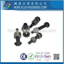 Feito em Taiwan Carbon Steel Grade 10.9 High Strength Bolt