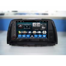 Kaier Android 7.1 tela de toque do carro dvd player / Carro Gps para mazda 6 com SWC / RDS / Função de Vista Traseira