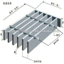 Feuerverzinkte Stahlgitterverarbeitung