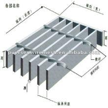 Fabricación de rejillas de acero galvanizado en caliente