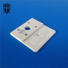 1600C 95% 96% alumina ceramic chassis plate