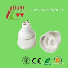 Refletor CFL GU10 substituível lâmpada (VLC-GU10-A2), lâmpada de poupança de energia de poupança de energia