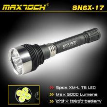 Maxtoch SN6X-17 5 * Cree T6 привели 18650 аккумуляторная факелов