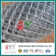 9 galvanizado cerca de lazo de cadena (ASTM A 392, el suministro de toda la solución, incluyendo tela de malla y accesorios)