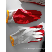 10T/C Economic Quality Latex Coated Safety Gloves