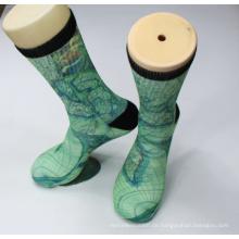 Großhandel benutzerdefinierte Sublimation Print Socken