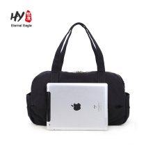 Portable foldable big travelling oxford cloth handbag