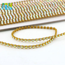 GBA020 Crystal Rolls Chain Wholesale Rhinestone Trim For Wedding Belt