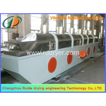 Particle Vibrating Thiourea Drying Fluidized Bed