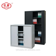 Modern tambour door steel filing office storage cabinet