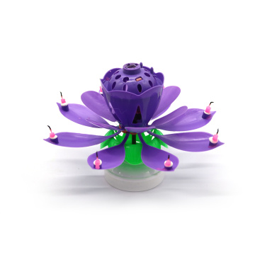 Hete verkoop Lotus Music Birthday Candle