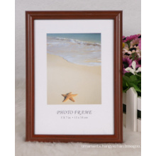 Plastic Frame with Wooden Grain (M-BD2530)