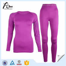 Lady Heated Underwear Women Pink Cheap Long Johns