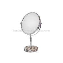 Großhandel dekorativen Penshell Kosmetikspiegel mit hoher Qualität