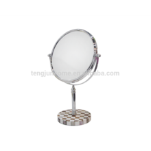 Wholesale decorative penshell cosmetic mirror with high quality