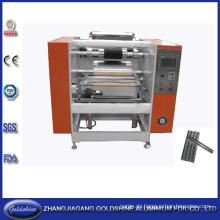 Halbautomatische Aluminiumfolie Roll zurückspulen Maschine (GS-AF-100)