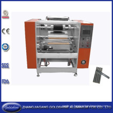 Rolo de papel alumínio semiautomática máquina do rebobinamento (GS-AF-100)