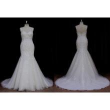 Klassisches Hochzeitskleid Mermaid Brautkleid
