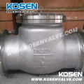 Stainless Steel Flanged End Swing Check Valve (H44)