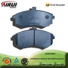 plaquette de frein de voiture semi-métalliques pour front JIANGHUAI véhicule HEYUE