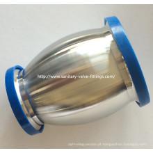 50 milímetros para 38 milímetros de aço inoxidável Redução Ball tipo válvula de retenção higiênica para o equipamento de leite