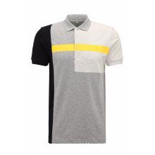 Geo Print Pique Cotton Polo Shirt