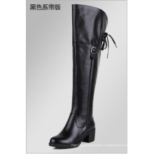 New Comfortable Flat Lace up Women Boots