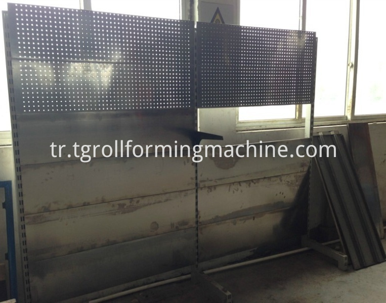 Warehouse Steel Shelving Roll Forming Machine