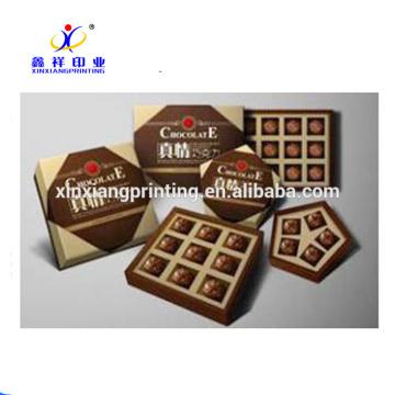 Caixas de embalagem de chocolate caixas de embalagem de chocolate