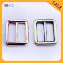 RB13 aleación de estilo de moda ajustable correa hebilla de metal barra de diapositivas hebilla