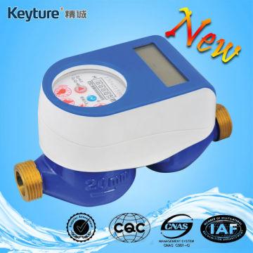 Medidor de água pré-pago com cartão IC (cor azul)