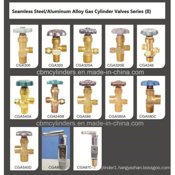 O2 CO2 H2 N2 Argon Helium Nh3 Cylinder Valves