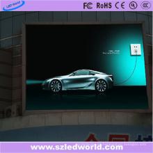 Tablero al aire libre ahorro de energía del panel de la pantalla LED P6 para hacer publicidad