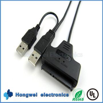 SATA22p к USB3.0 и USB2.0 Простой приводной кабель