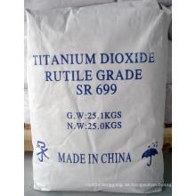 Titandioxid mit bestem Preis für Mehrzweck