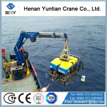 Knuckle Telescopic Boom Ship Crane