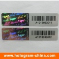 3D Laser Anti-Fake Barcode Hologram Stickers