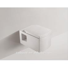 American Standard Wall Hung Toilet Wall Drain Toilet Product Cerámica Wall Hung Toilet