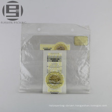 Unique transparent wholesale plastic bread bag