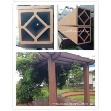 120 mm Pfosten WPC Composite Pillar für Pergola oder Pavillons