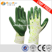 SUNNYHOPE 13gauge garden gloves with logo