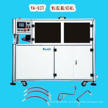 Máquina automática de pelado y corte