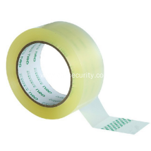 High visible clean low noise bopp tape