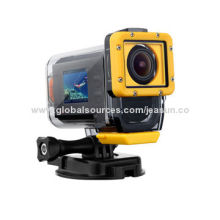 Full HD 1,080P Sports Camcorder with 1.5-inch LCD, RF Remote Control