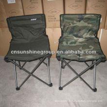 Chaise de camping pliante portable avec coupe titulaire & carry bag